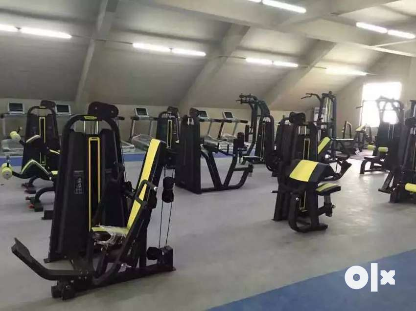 heavy duty gym equipment setup available.. New and commercial just rup 0