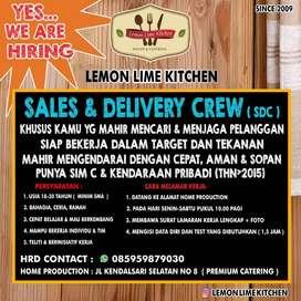 Lowongan Kerja: Sales & Delivery Crew (sdc)