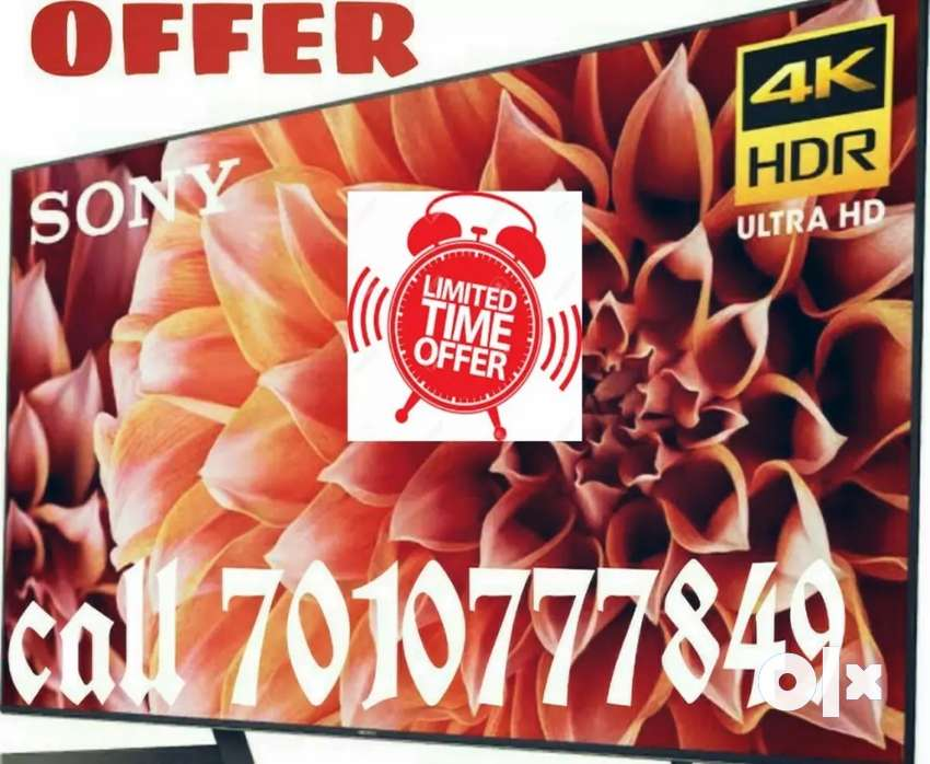"50% OFFER//SONY 26""ஸ்மார்ட் 4k led tv///2 years replace warranty 0"
