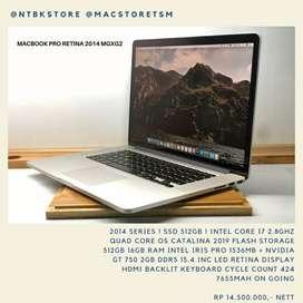 Macbook Pro Retina 15 MGXG2