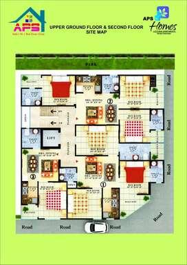 Muskan homes 1/2/3 bhk @noida sector 73