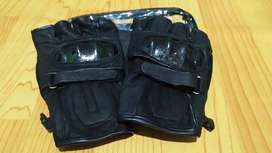 Motor gloves kulit