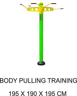 Body Pulling Training Outdoor Fitness Murah Garansi 1 Tahun