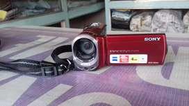 SONY Handycam Digital Video Recoder PAL 60x Optical Zoom DCR-SX44E 4gb
