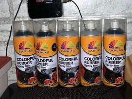 colourful Rubber spray film