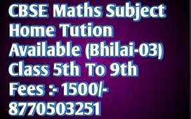 maths coching available home Tution