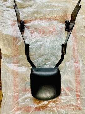 Harley Davidson pillion backrest
