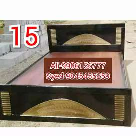 C65 mini double cot 4 X 6 without storage 4250