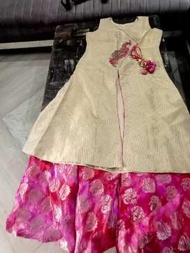 Skirt with long shirt