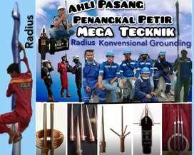 Pasang anti petir | ahli penangkal petir Darangdan / Purwakarta