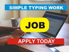 Male female workers needed, apply today for typing project: