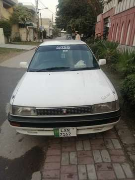 Toyota corolla 90 model 2000 registered automatic sell and exchange