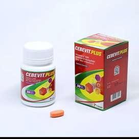 Multivitamin lengkap Plus Zinc, paling dicari u/ Imunitas, Ready Stok