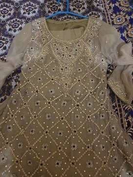 Maxi for party wear and walima bridal