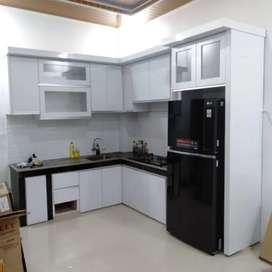 Kitchen set,, kamar set minimalis HPL DLL (costume)