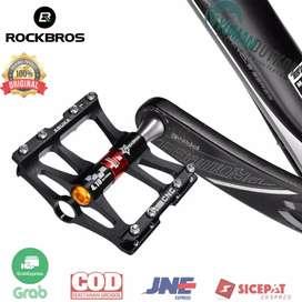 JT410 Rockbros Pedal Sepeda Anti-slip Ultralight MTB Mountain