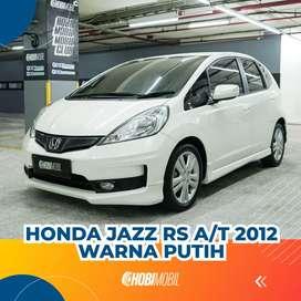 Honda Jazz RS AT 2012 TDP 23,5jt Proses Dibantu sampe Aprov