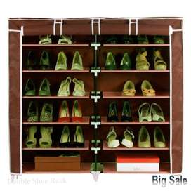 Double Shoe Rack Wardrobe 12 layers, Transform yourselfMaking every