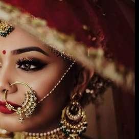 Best bridal makeover professional makeup artist Delhi NCR