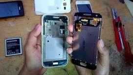 ganti LCD samsung segala tipe langsung pasang