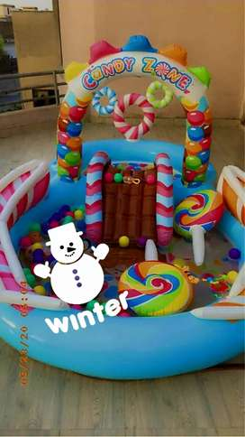 Intex candyland inflatable pool