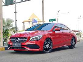 MERCEDES BENZ CLA200 SPORT AMG 2016 FACELIFT • RED ON BLACK • PANO