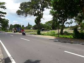 Tanah di pinggir jalan raya Gelogor