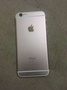 Iphone 6s scratch less in a good condition