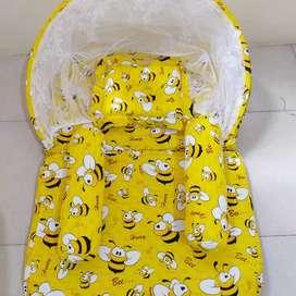 Kasur Bayi Kelambu set tempat tidur bayi hadiah lahiran