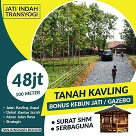 Jual tanah murah di Bogor