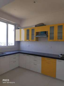 For rent 2 BHK society flat New built with amenities