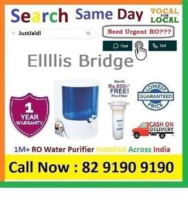 Ellllis Bridge  Dolphin RO water Filter Water Purifier  Drink CLean Wa
