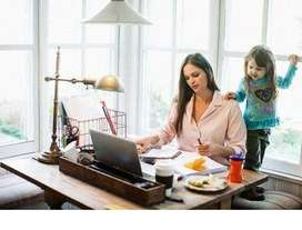 SEEKING out for a job- work from home & earn handsome income up