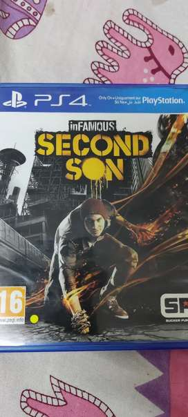 Ps4 second son CD