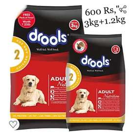 Dog Food Adult And Puppy Sealed Pack