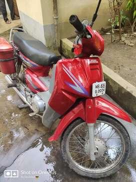Vintage bike from Hero Honda