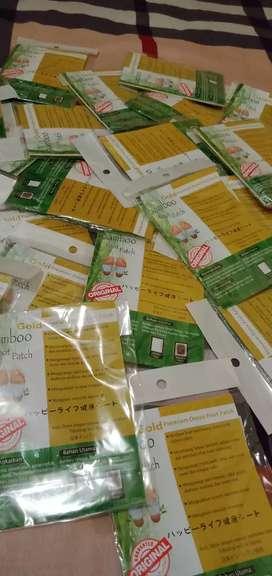 GROSIR DAN ECER Koyok Kaki Bamboo Foot Patch ORIGINAL