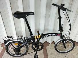 Sepeda lipat 16 airwalk orisinil normal