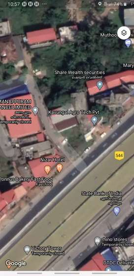 Commercial space for sale in Mannuthy, Thrissur