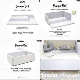 Lumba bumper bed + cover