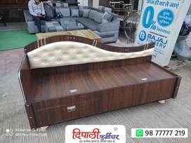 New Sofa cum Diwan with cushion head Front open storage option