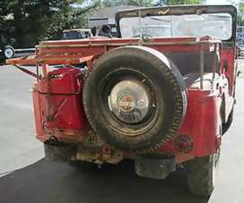 Mahindera jeep