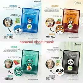Masker wajah karakter