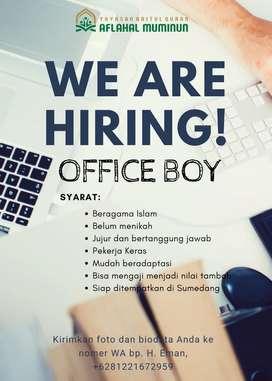Office boy untuk Yayasan