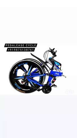 X6 MACWHEEL FOLDABLE CYCLE WITH 21 GEARS WITH FREE ACCESSORIESsss