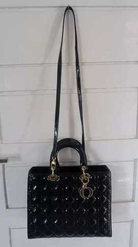 Preloved Christian Dior Glossy Bag