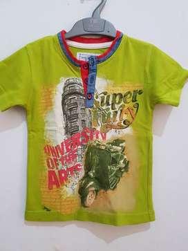 Kaos anak cowok special Design Color In 2th