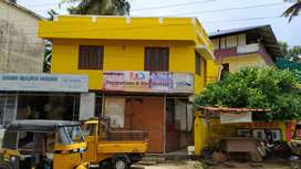 House or office space available for rent at sasthamangalam