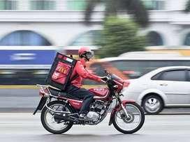 Urgent Hiring Delivery Boy