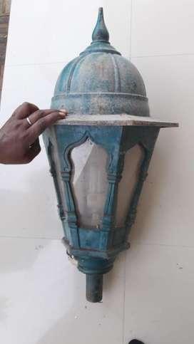 Cast iorn antiqe designe lamp post
